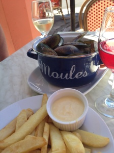 mussels, chips, cuisine, new zealand, honey moon