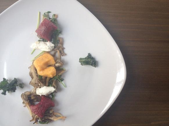 Beet and Sweet Potato Gnocchi